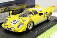 FLY C22 FERRARI 512S 1970 SPA NEW 1/32 SLOT CAR IN DISPLAY CASE *HARD TO FIND*