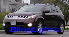 Xenon Halogen Fog Lamps lights foglamps foglights for 2003-2008 Nissan Murano