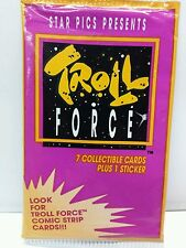 Troll Force Cartoon TV Show 1992 Trading Card 23 Sealed Pack Lot