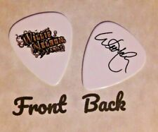WILLIE NELSON & FAMILY band Signature Logo guitar pick-(Q2)