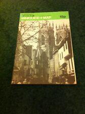 York mini Guide and Map circa 1980