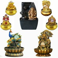 Belief Led indoor tabletop water fountain waterfall FengShui Decor Special Gift