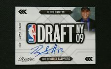BLAKE GRIFFIN 2009-10 PANINI PRESTIGE ROOKIE DRAFT AUTOGRAPH ON CARD RC AUTO SP