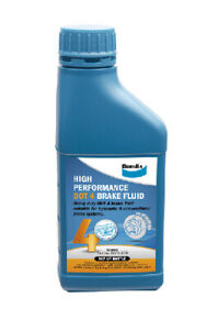Bendix High Performance Brake Fluid DOT 4 500mL  BBF4-500 fits BMW 6 Series 6...