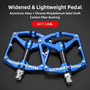 ROCKBROS 4 Bearings Bicycle Pedal Anti-slip Ultralight CNC MTB Pedal