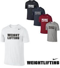 Nike DryFit GYM TEAM MENS T-SHIRT FITNESS TRAINING BODYBUILDING WEIGHTLIFTING