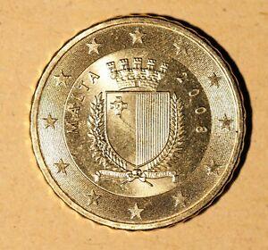 monnaie  Malte, 10 cent  Euro, 2008, SUP,  cc48