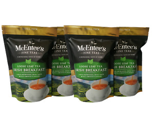 McEntee's IRISH BREAKFAST Tea – MULTIPACK VALUE 4 Pack - Blended in Ireland.