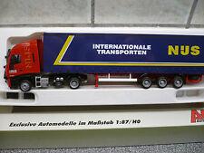 Semi remorque IVECO des transports NIJS de Lommel (no sncb)