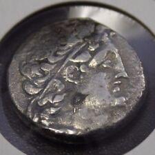 Greek Ptolemy X Alexander 106-88 BC Silver Tetradrachm