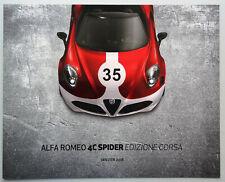 V11531 ALFA ROMEO 4C SPIDER 'EDIZIONE CORSA'