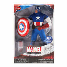 """Marvel Ultimate Series Captain America Premium 11"""" Action Figure MISB"""