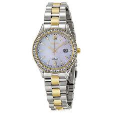 Seiko Solar Mother of Pearl Ladies Solar Quartz Watch SUT074-AU