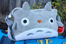 Studio Ghibli My Neighbor Totoro Messenger Bag Anime Shoulder Bag HandBag Grey