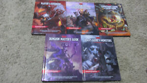 Dungeons & Dragons 5e new DMG PHB MM Volo Xanthars Mad Mage Tiamat free shipping