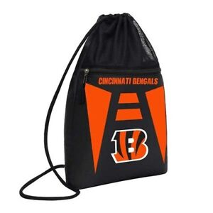 Cincinnati Bengals NFL Cinch Back Sack Drawstring Bag