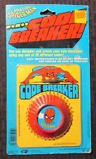 1980 AMAZING SPIDER-MAN Code Breaker MOC C-6 Gordy