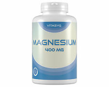 (6,4€/100g)Vitasyg Magnesium 400 - 2x300 Kapseln mit 400mg reinem Magnesium Mg