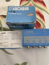 Super Rare Vintage BOSS J-5 Multiple Jack with Box and Manual NOS