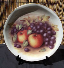 Royal Imperial Finest Bone China Fruit Design Display Plate 27cm by D.Hague