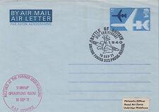 Sc30aL RAF Museum Airletter 31st Anniv Battle of Britain Flown in Spitfire
