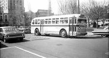 0Bb099 Neg/Rp 1960s Wilkes Barre Transit Corp Bus #504