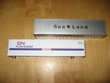 Lionel Sealand/CN Intermodal Container Trailers (new)