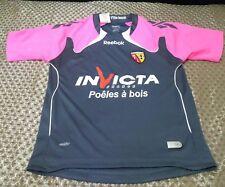 Racing Club de Lens RC 2010/2011 Reebok  Camiseta Shirt Jersey Trikot 9-10 years