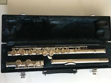 Yamaha Silver Plated Flute YFL-221 with Hard Case.MINT JAPAN