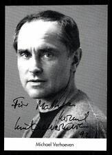 Michael Verhoeven Autogrammkarte Original Signiert # BC 57719