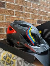 Troy Lee Designs A3 MIPS Helmet Camo Gray/Red Size MD/LG