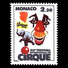 Monaco 1986 - 12th International Circus Festival Clown Art - Sc 1554 MNH