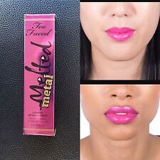 NEW SEALED Too Faced Melted Metal Metallic Liquified Lipstick In DREAM HOUSE