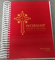 WORSHIP 4th Edition Keyboard Accompaniment Vol.3 2011