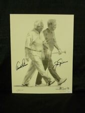 Masters Champions Arnold Palmer & Jack Nicklaus Signed LE Lithograph Sketch JSA