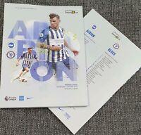Brighton v Chelsea Matchday Programme 1/1/2020 FREE DELIVERY WITHIN U.K.!!!