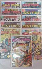 Lot of 11 Star Trek DC Comics Dream World Feb 84 - Dec 85 excellent Condition