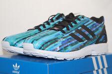 adidas ZX FLUX TORSION EU 43.3 UK 9 Running Shoes türkis blau s76505 Laufschuhe