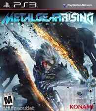 Metal Gear Rising Revengeance for PS3 SEALED NEW