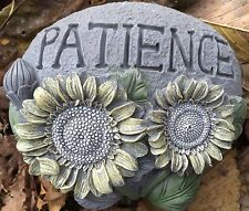 Patience Rock, Small Latex Only Concrete Mold, cement, plaster