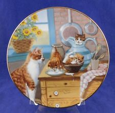 Cats, Table Manners Kittens By Gre Gerardi, Country Kitties Series #0532A