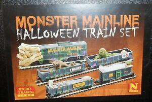 Micro-Trains N Scale -  MONSTER MAINLINE  Halloween Set -   993 21 320