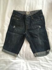 Mens Large Boys BURTON Cropped Jeans Size 32""
