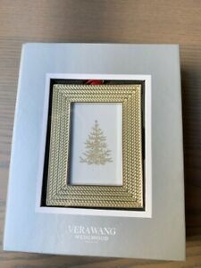 Vera Wang for Wedgwood 2016 With Love Nouveau 5x7cm Christmas Photo Frame *NEW*