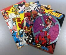 Marvel X-FORCE #2 8 15 19 Key DEADPOOL Domino Cable EARLY App LOT D Ships FREE!