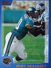 NFL 115 Tony Brackens Jacksonville Jaguars Topps 2000