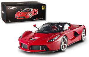 """Hot Wheels Elite Ferrari LaFerrari 2013 Red BCT79 1/18 Minor Paint Defect """"RARE"""