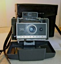 VTG Polaroid 340 Instant Film Camera w/ Case flash bulbs manual REDUCED