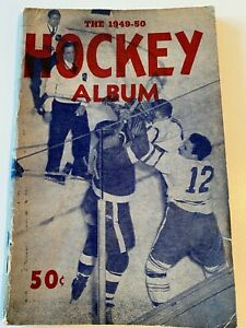 The Hockey Album 1949 - 1950 - NHL Photo Album and Annual