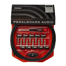 D'Addario DIY Solderless Guitar Pedalboard Cable Kit Patch PW-GPKIT-10